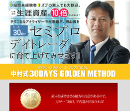 中村式30DAYS GOLDEN METHOD